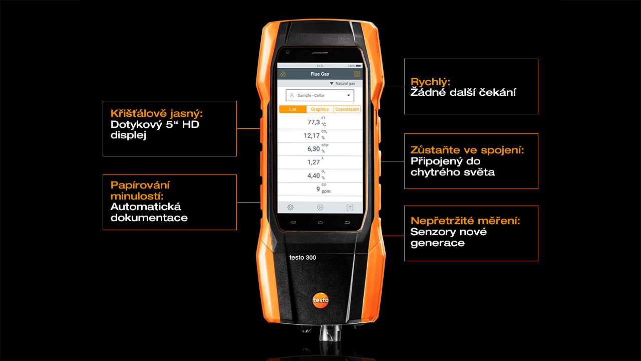 Analyzator-spalin-testo-300-vlastnosti